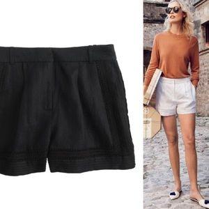 J Crew Lace Shorts